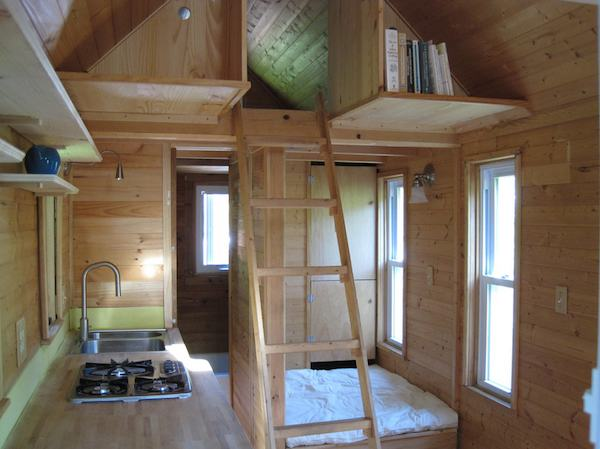 jay shafer tiny house interior - Tumbleweed Tiny House Interior