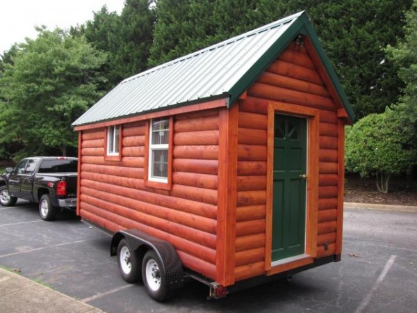 Tiny Log Cabin for Sale