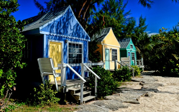 Colorful Beach Cottages