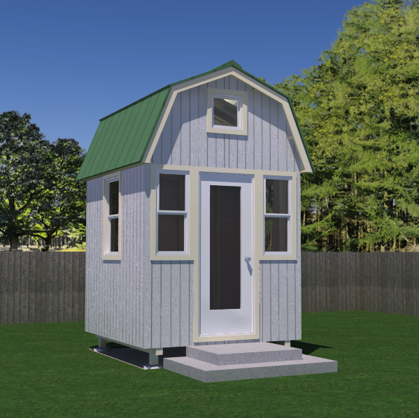 Free micro gambrel tiny house plans tiny house pins for Tiny house designs free