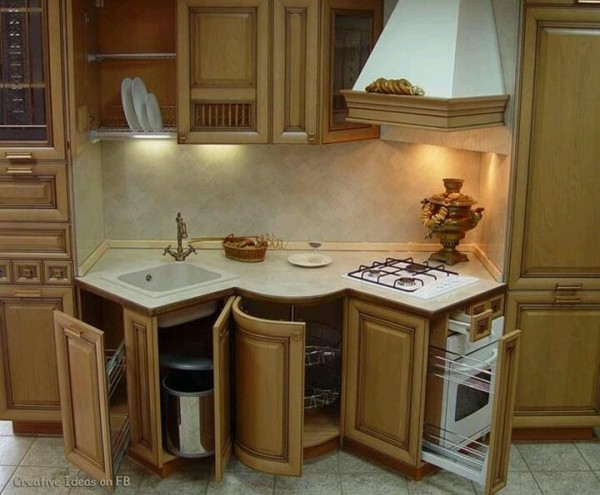 Interesting compact kitchen design tiny house pins for Compact kitchen designs