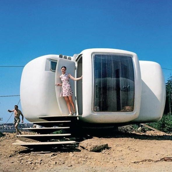 jean bubble house - Tiny Dwellings