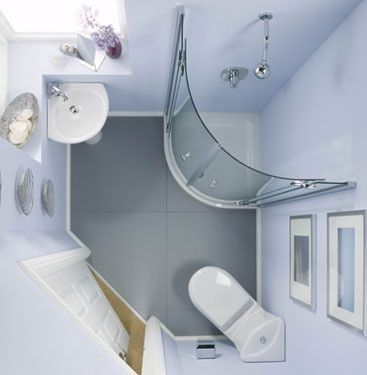 Small Modern Bathroom Design Interior