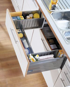 How To Design A Space Saving Drawer Under Your Sink Tiny