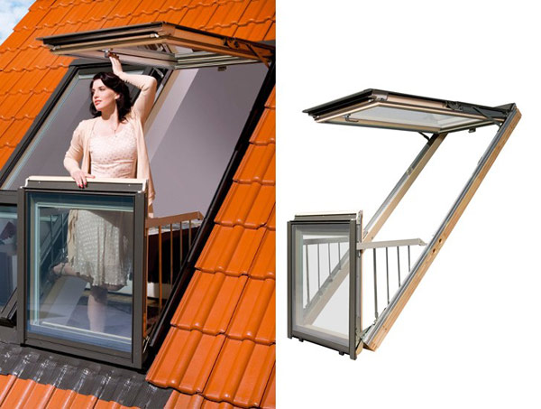 Wouldn't You Love This Balcony Window For Your Tiny House?