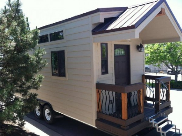Fabulous Small House Wheels The Not Tiny House Wheels Back Home Andrew And Largest Home Design Picture Inspirations Pitcheantrous