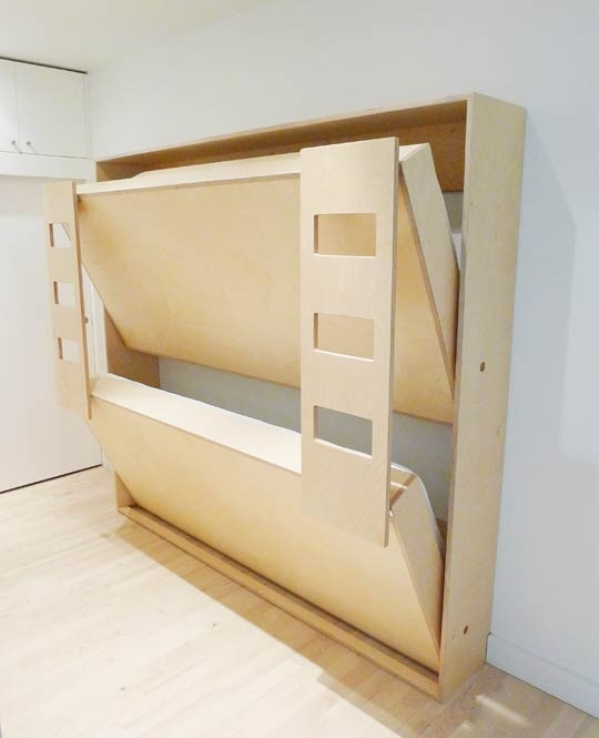 Fold Away Bunk Beds for Tiny Homes? | Tiny House Pins