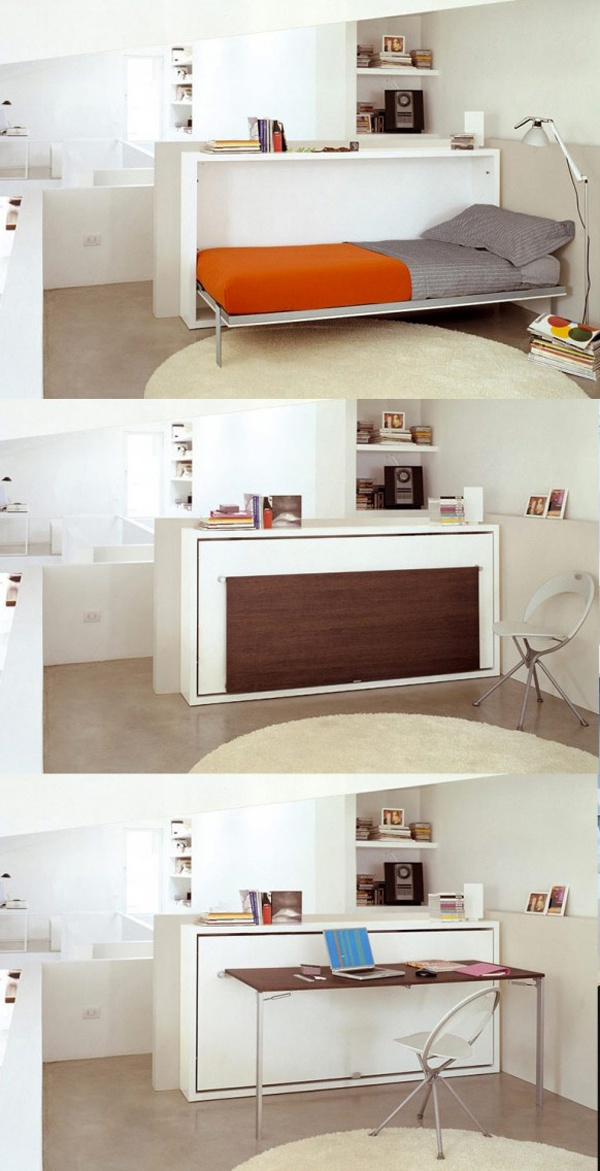 hidden-bed-and-table-desk-multifunctional-furniture