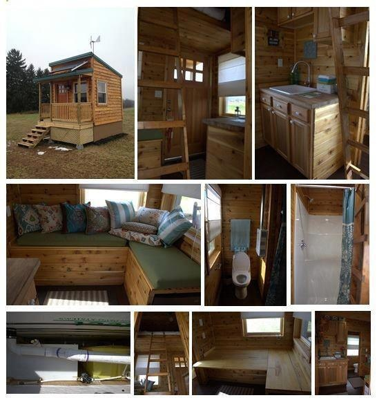 Off grid micro cabin tiny house pins - The off grid tiny house ...