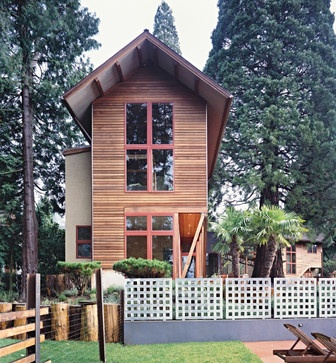 Two story tiny house for work guests or living tiny for Small two story homes