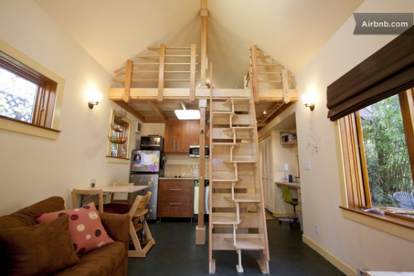 Your own 420 Sq Ft Tiny Cabin in Berkeley Tiny House Pins