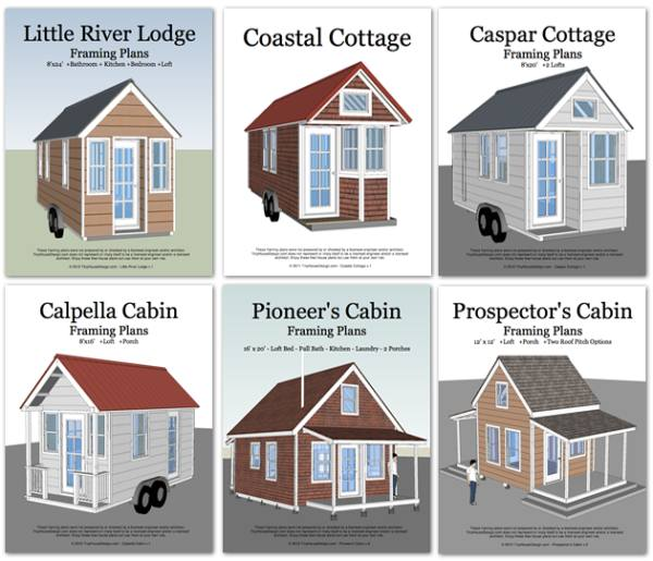 plans tiny house pins - House Plans For Sale