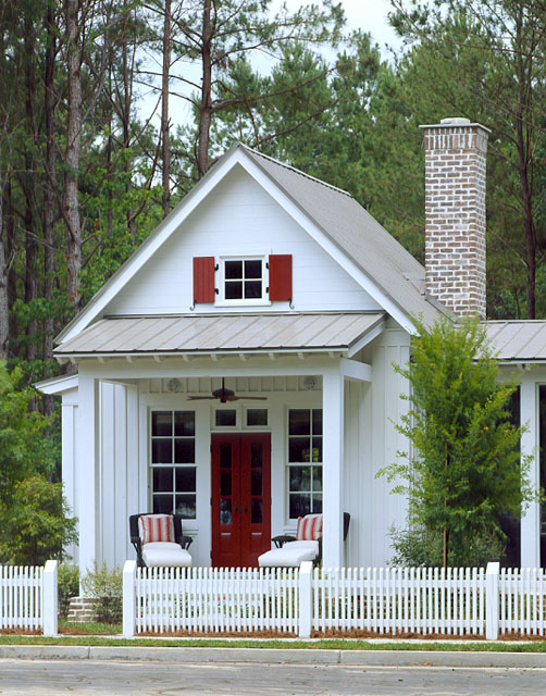 Tiny guest cottage tiny house pins for House plans with guest houses southern living