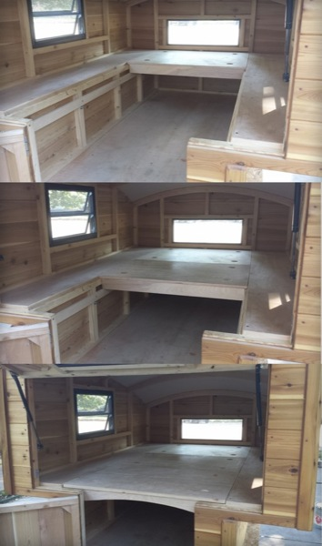 Truck Bed Shell >> Handmade Micro Truck Bed Camper for $3700 - Tiny House Pins