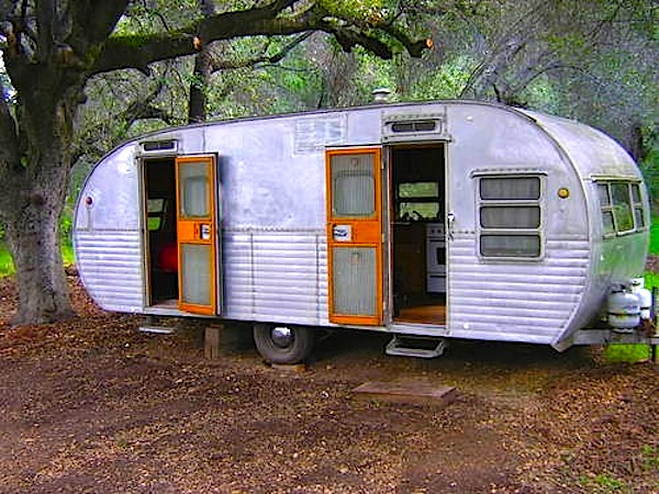 1956 Vintage Yellowstone Travel Trailer