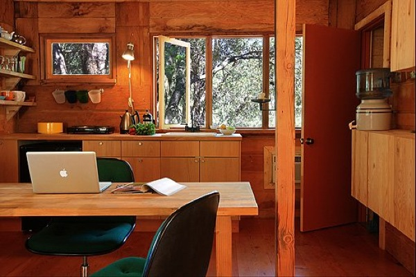 Rustic yet Modern Yosemite Micro Cabin with Deck-13