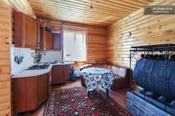 Small Russian Log Cabin-08