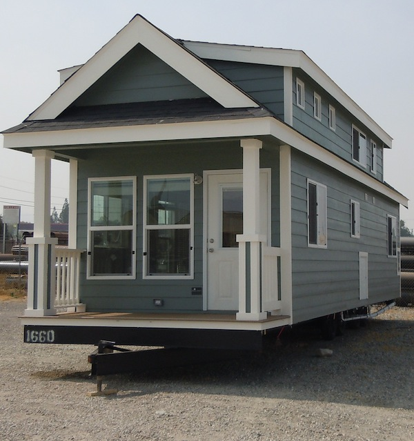 Big tiny house on wheels