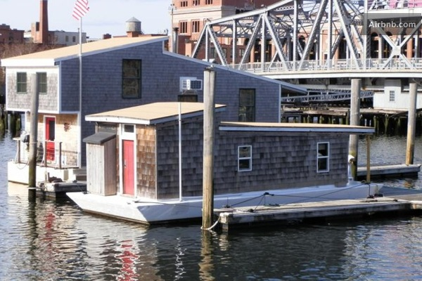 Simple Living in a Tiny Houseboat