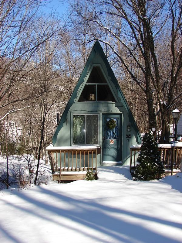 Whimsical A-frame Cabins in NC