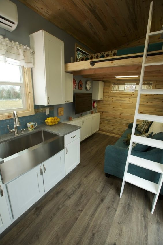 Custom Tiny House on Wheels for a Family of Four!