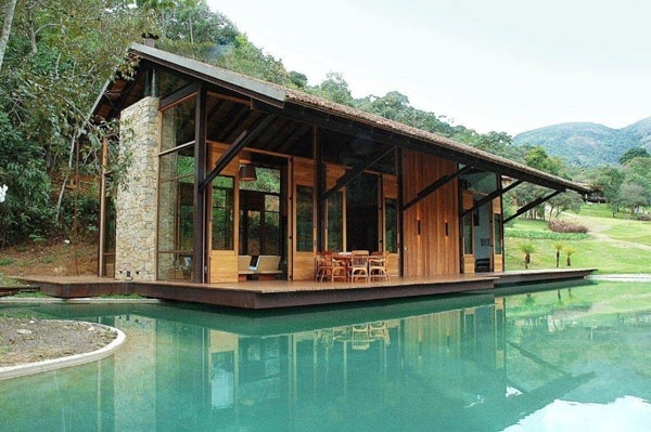 Luxury Tiny Cabin with Pool