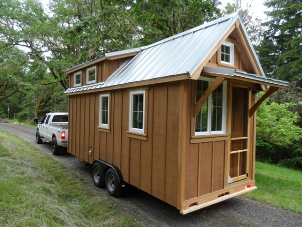 Tiny House Gets An Owner