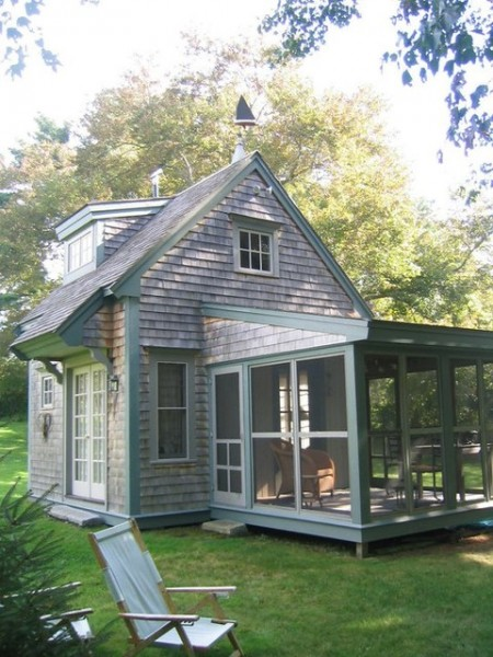 Traditional small cottage tiny house pins for Small home builders near me