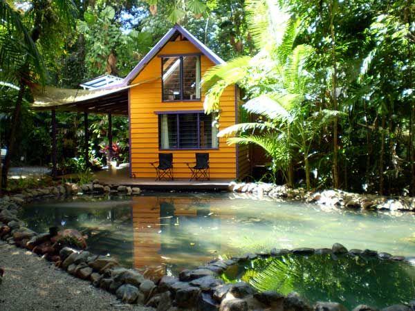 tiny house pond