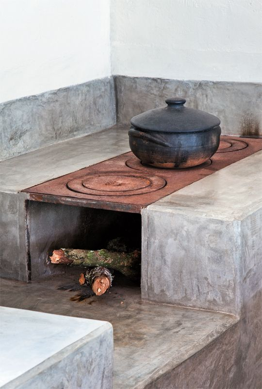 built-in-wood-burning-stove-in-kitchen