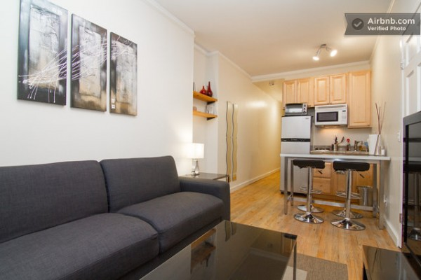 500 sq ft micro apartment in nyc tiny house pins. Black Bedroom Furniture Sets. Home Design Ideas