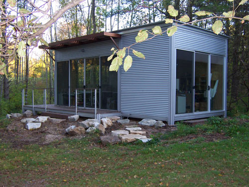 KitHAUS K2 and K3 modules connected to make Tiny Home
