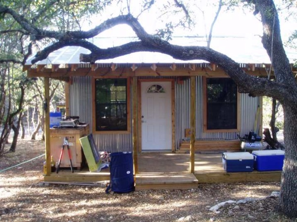 5k tiny cabin on a foundation mortgage free living for Build a cabin for under 5000