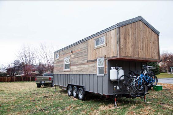 Custom Tiny House on Wheels for a Family of Four!